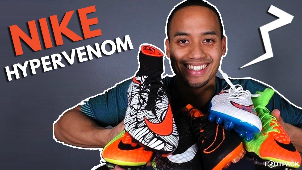 582e27acb L'évolution de la Nike Hypervenom - YouTube
