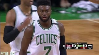 Jaylen Brown R3G1 Highlights vs Cleveland Cavaliers (10 pts, 9 reb)