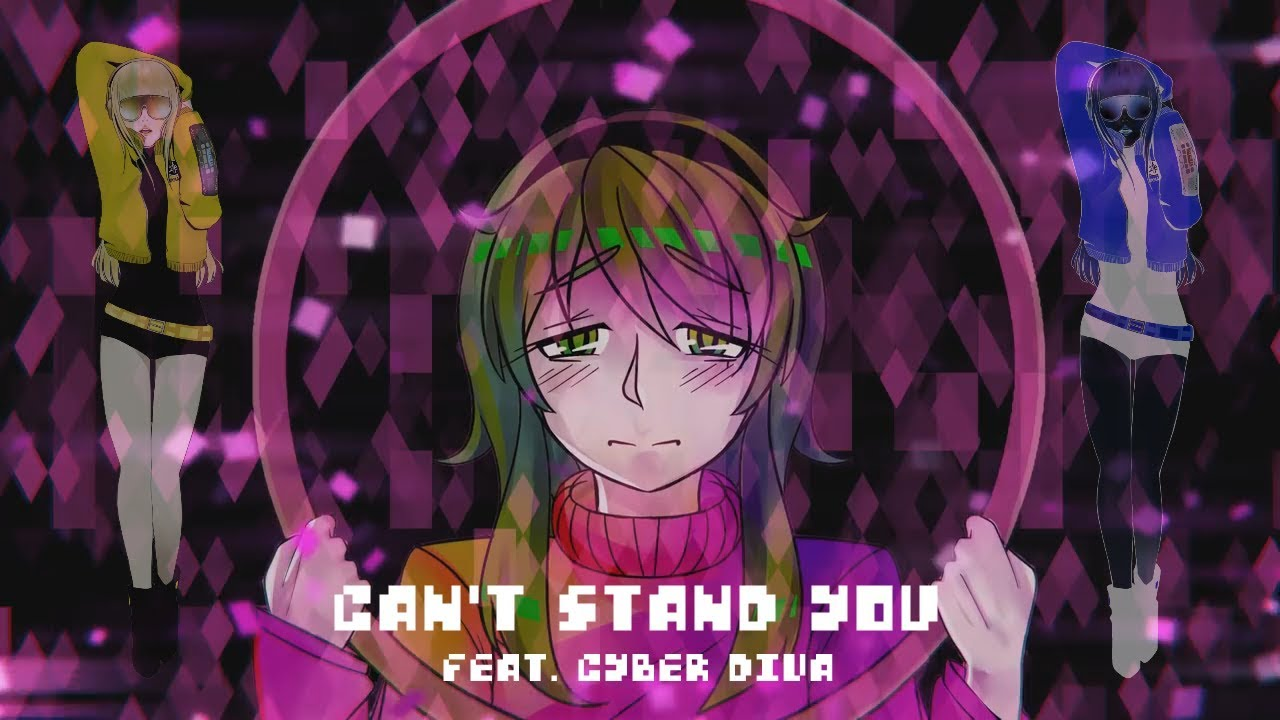 Cyber diva can 39 t stand you vocaloid cover vsqx youtube - Cyber diva vocaloid ...