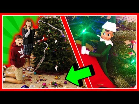 WHO DESTROYED OUR CHRISTMAS? | Mystery Elf 2 | We Are The Davises