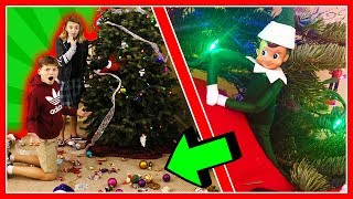 WHO DESTROYED OUR CHRISTMAS?   Mystery Elf 2   We Are The Davises