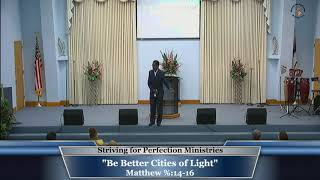 9 Feb 2020, Be Better Cities of Light, Min. Clifford Greer