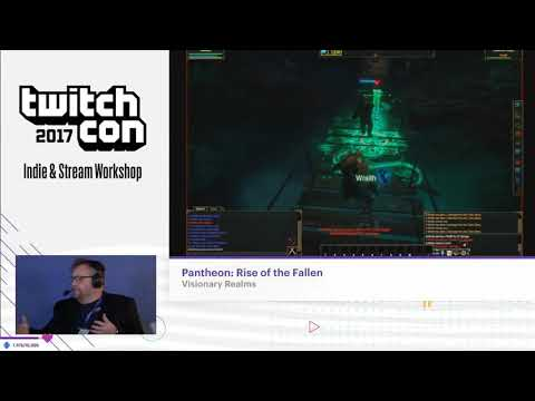 Pantheon's TwitchCon 2017 Stage Segment (with pre-alpha launch announcement)