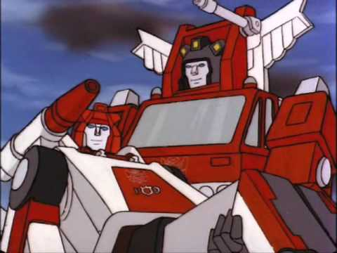 Transformers G1 Ep02x17 Red Alert Inferno Scenes Youtube
