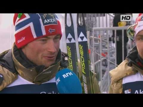 VM Men's 4x10 Km Holmenkollen 2011 - Petter Northug INTERVIEW