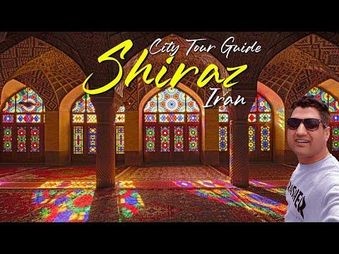 Shiraz Iran Travel VLOG & City Tour | Beautiful & Green