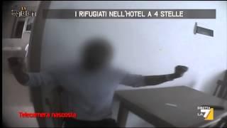 I rifugiati nell'hotel a 4 stelle