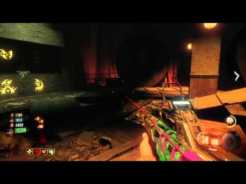 BO3 ZOMBIES 4 Player Game Play