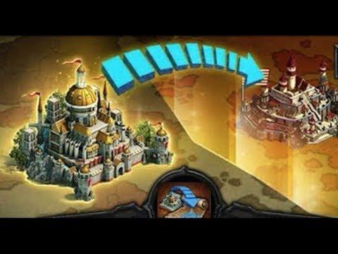 Clash Of Kings : KINGDOM TRANSFER STEPS & CARDS NEEDED