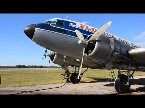 Florida Air Cargo Inc. DC-3 action Part-2