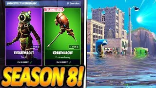 THE NEW DEEP SKINS!🌊🔥 | SEASON 8 UNDER WATER?🐙 | NEW UPDATE | Fortnite Battle Royale