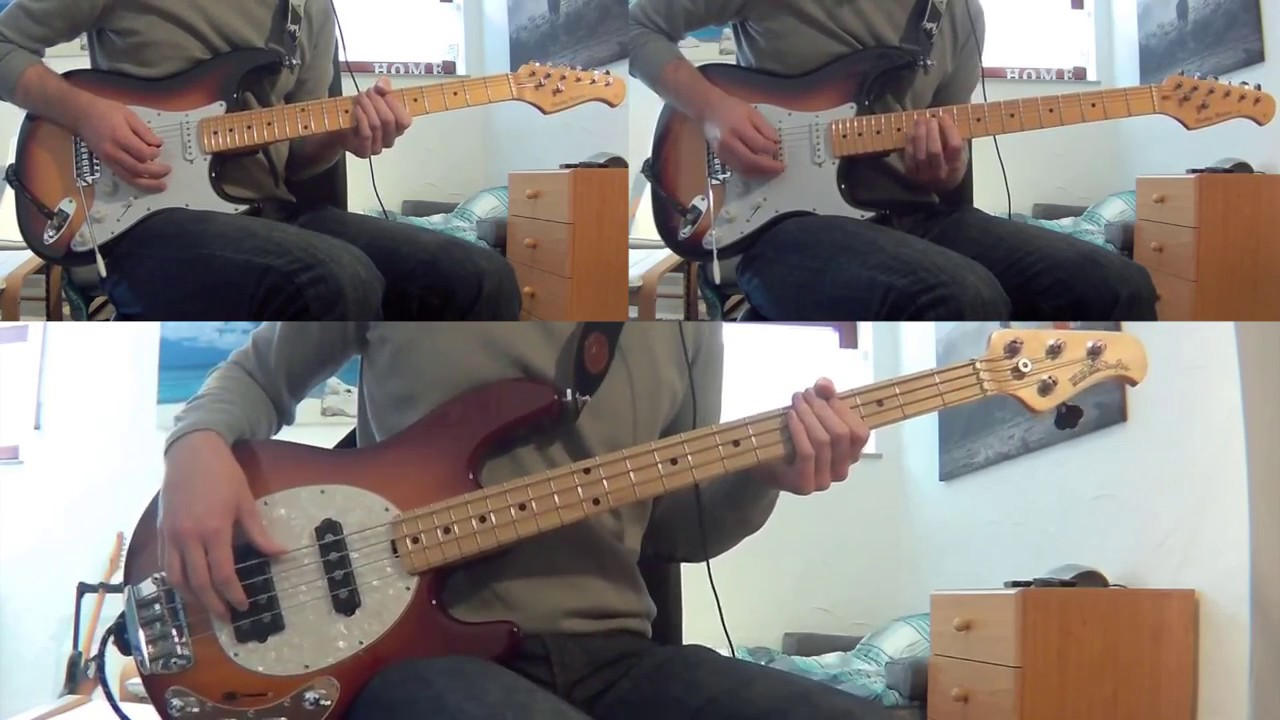 how to play crystalised on guitar