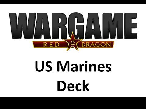 Wargame Red Dragon - US Marines Deck