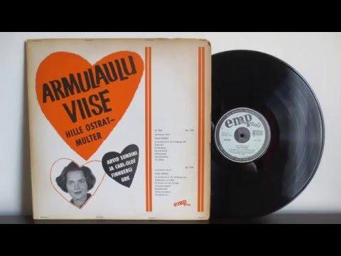 Estonian Music Artist - Hille Ostrat - Armulaulu Viise (1966) - EMP Records Sweden Jazz