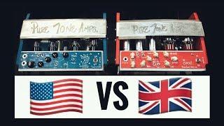 American Vs British Style Pure Tone Guitar Amps!