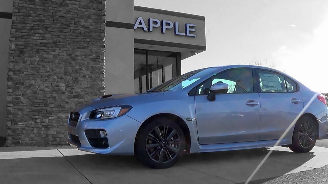 2015 subaru wrx limited: review - youtube