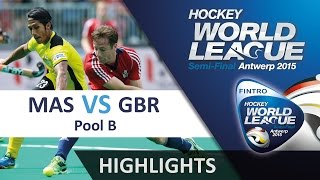 Malaysia v Great Britain Match Highlights - Antwerp Men