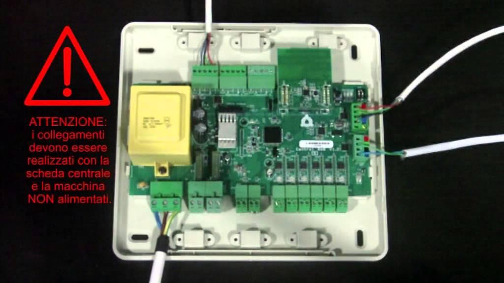 Schede elettroniche centrali youtube for Scheda bft alcor 6