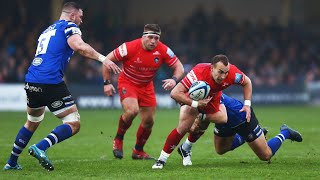 Match Highlights: Bath Rugby v Leicester Tigers | Gallagher Premiership, Round 9