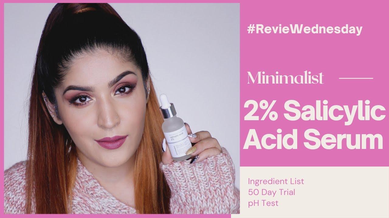 Minimalist 2% Salicylic Acid Review | #RevieWednesday | Shreya Jain