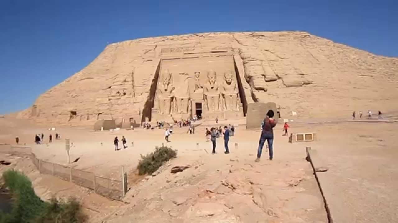 Ägypten :Die Tempel von Abu Simbel - YouTube