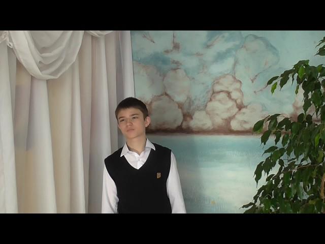 Изображение предпросмотра прочтения – АндрейКочергин читает произведение «Весенняя гроза (Люблю грозу вначале мая…)» Ф.И.Тютчева