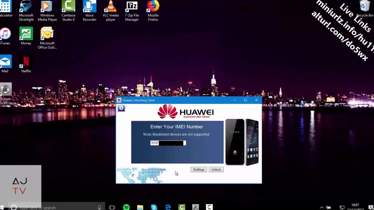 Unlock Huawei Mifi Free B310, B315, B525, B593, B683, B618, B619 & B890