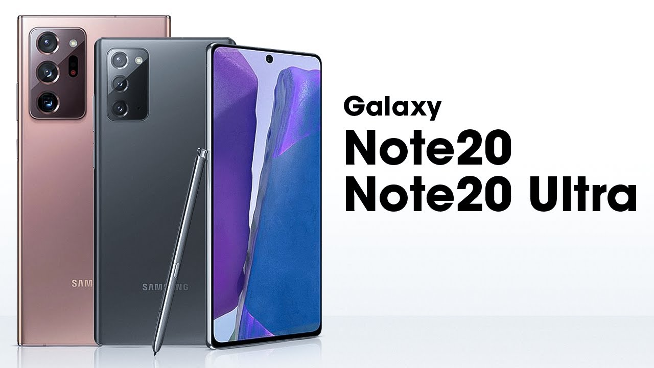 Galaxy Note 20 Note20 Ultra Youtube