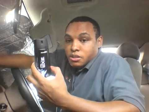 axe body spray review:black chill