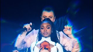 Gambar cover Normani & Sam Smith Perform Dancing With A Stranger (Live @ Jingle Ball) - FOR THE FIRST TIME EVER
