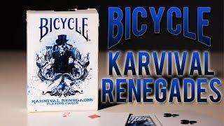 Deck Review - Bicycle Karnival Renegades Playing Cards BigBlindMedia