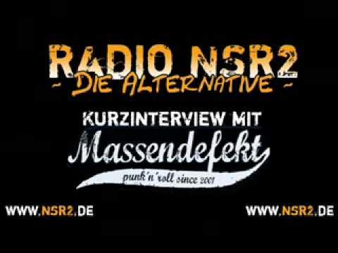 Radio NSR2 - Interview - Massendefekt (Teil 1/2) Düsseldorf Zakk