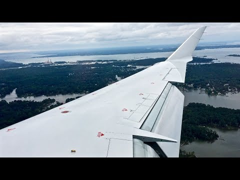 American Eagle - Bombardier CRJ-900LR - CLT-PHF - Takeoff & Landing - Inflight Series Ep. 110