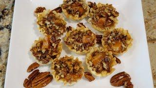 Тарталетки с орешками_Pecan mini tarts