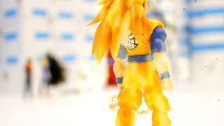 DRAGON BALL Z Stop Motion Action - Future Gohan and Trunks vs. Androids 2