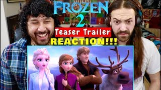 FROZEN 2 | Official Teaser TRAILER - REACTION!!!