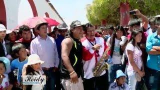 LOS HUANACOS DE LA RISA 2015  HD - Arcadio - Saxo Mudo - Huancaino
