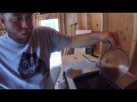 How To Make A Soft Plastic Lure Mold Using Fibreglass Resin