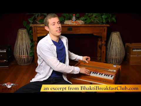 Harmonium 213  Song: Shri Krishna Govinda  in the Bhakti Breakfast Club