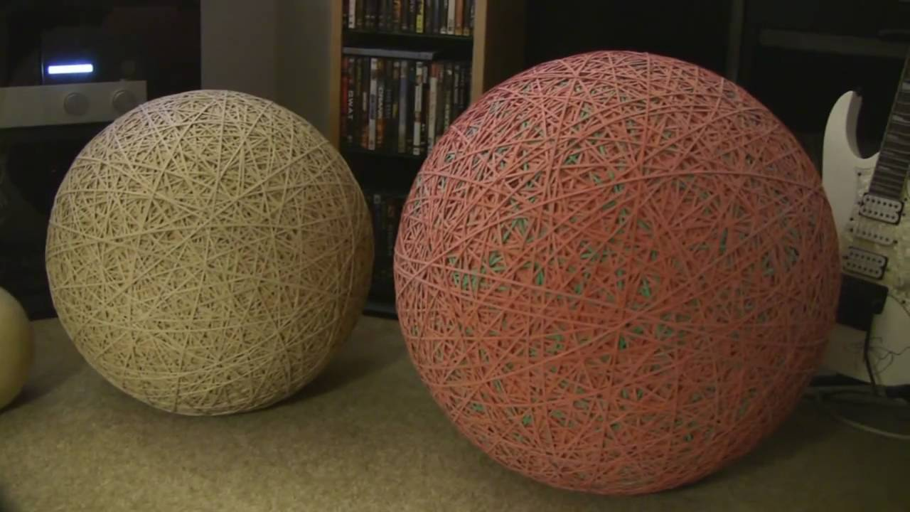 What Is In The Center Of A Rubber Band Ball 25
