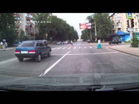Видеорегистратор Mystery MDR-860HDM - дневная съёмка.MOV