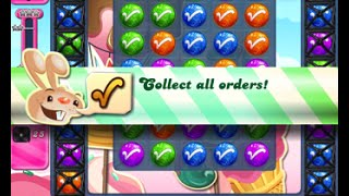 Candy Crush Saga Level 1611 walkthrough (no boosters)