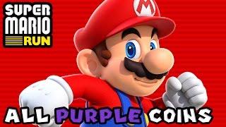Super Mario Run: All Purple Coins