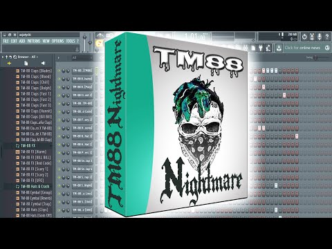 TM88 Trap Drum Kit 2017 ✪Nightmare✪ (FREE DOWNLOAD)