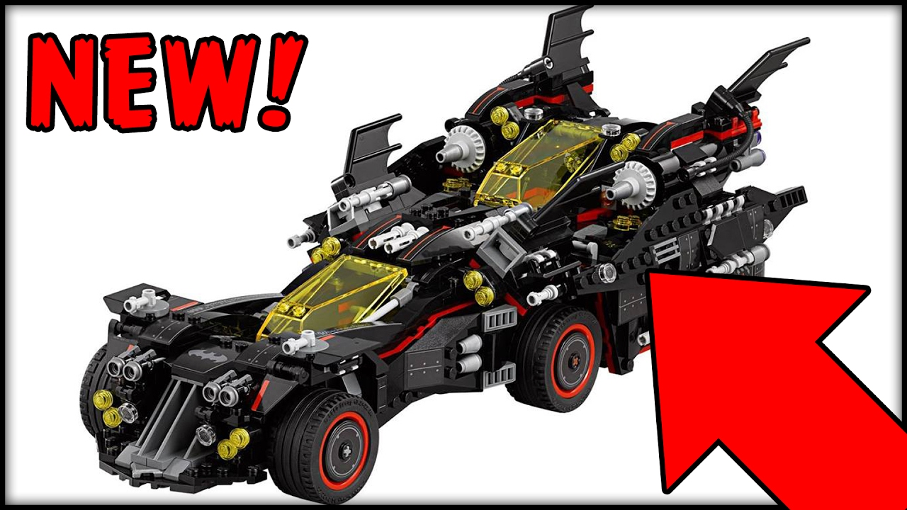 the lego batman movie ultimate batmobile revealed 4 vehicles 8 minifigures more youtube. Black Bedroom Furniture Sets. Home Design Ideas