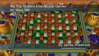 Top 10 Xbox Live Arcade Games for Xbox 360 - PART 1/2 (HD)