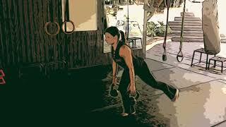 Leggy Leg Kettlebell Combos and Workout
