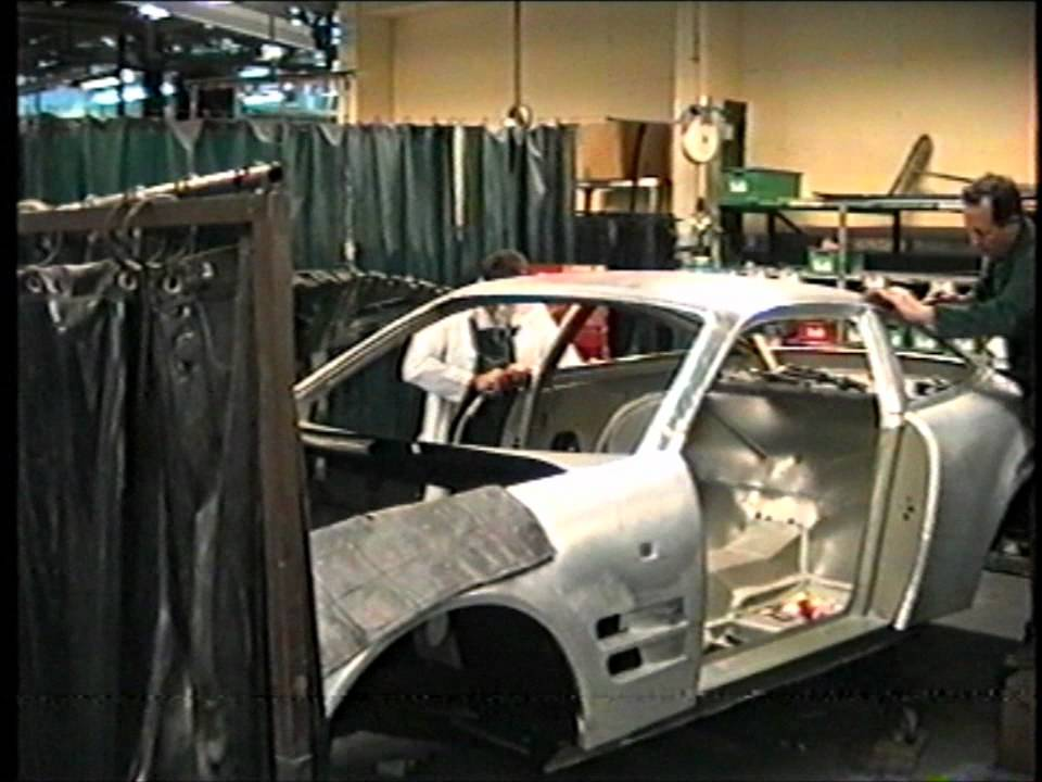 Aston Martin Lagonda Factory Newport Pagnell 1994 Youtube