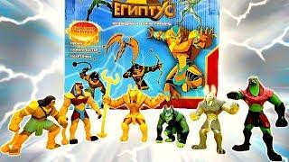 Египтус - распаковка воинов! Видео игрыТрансформеры.
