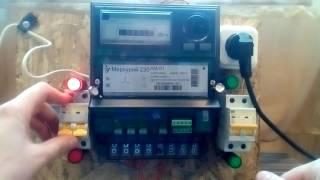 Как легко остановить счетчик без магнита. Тел 8-968-702-25-52